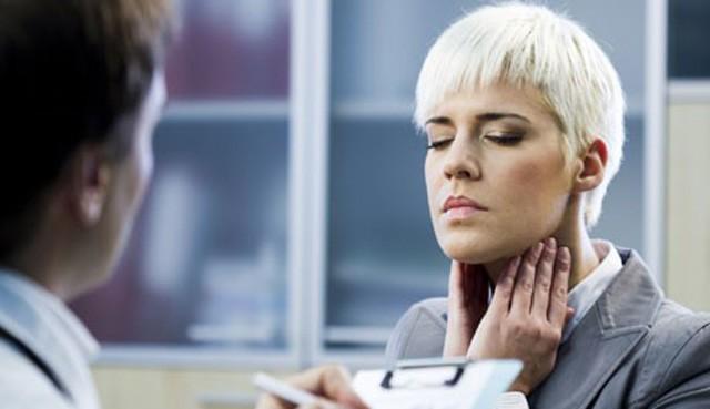 Микробное воспаление щитовидной железы