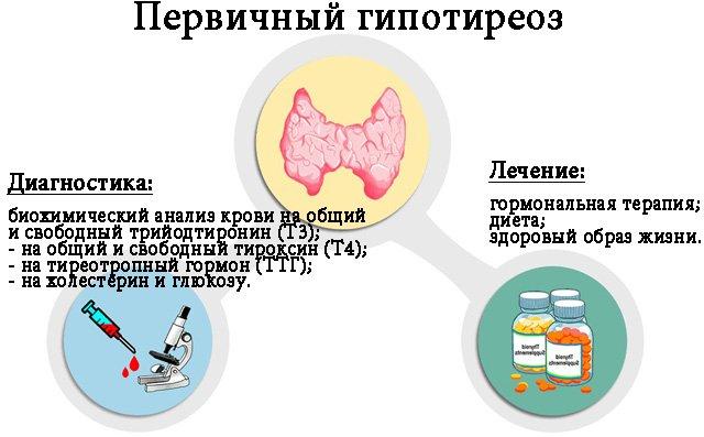 Первичный гипотиреоз