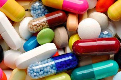 цветные таблетки