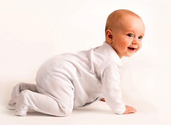 ползание малыша