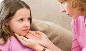 Лечение зоба у ребенка