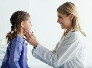 Симптомы заболевания щитовидной железы у детей